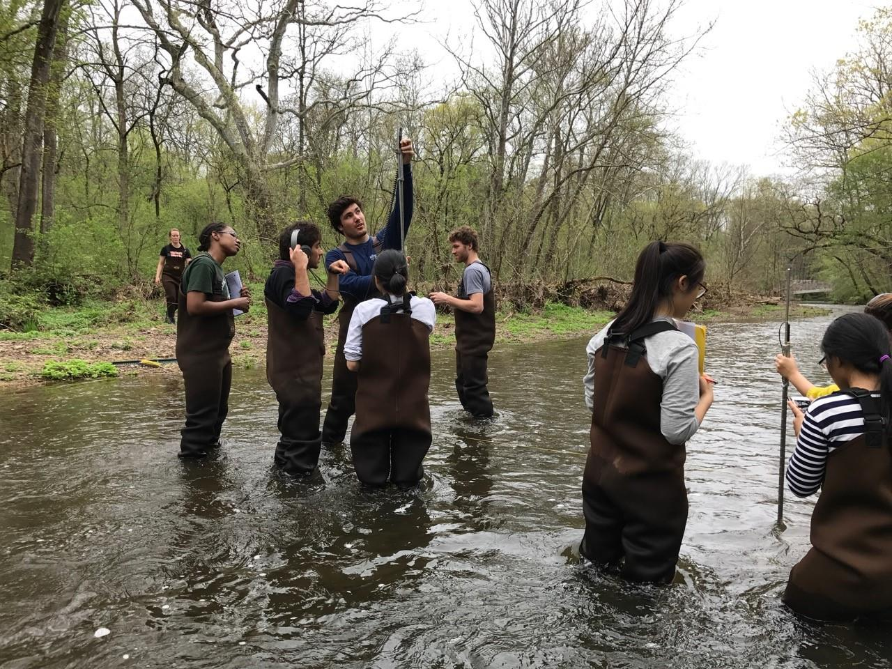 Stony Brook Sampling, Students from a class